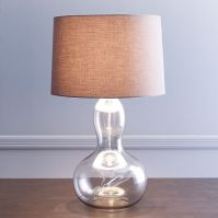 Gourd Table Lamp - Charcoal | west elm