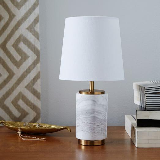 Small Pillar Table Lamp