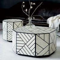 Bone Inlaid Coffee Table | west elm