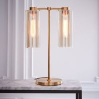 Glass Cylinder Table Lamp | west elm