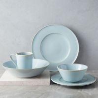 Terra Dinnerware Set - Light Blue | west elm