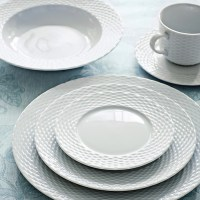 Pillivuyt Basketweave Dinnerware Place Settings | Williams ...