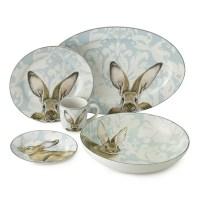 Damask Bunny Dinnerware Collection | Williams-Sonoma