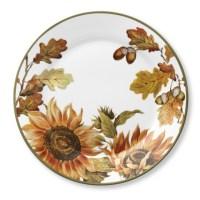 Botanical Sunflower Dinner Plates, Set of 4 | Williams-Sonoma