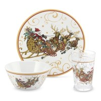 'Twas The Night Before Christmas Kids Dinnerware Set ...