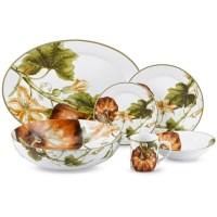 Botanical Pumpkin Dinnerware Collection | Williams-Sonoma