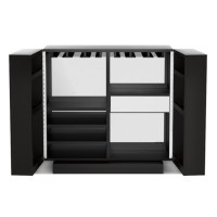 Harrington Mirrored Bar Cabinet | Williams Sonoma