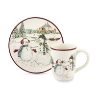 Snowman Dinnerware Collection | Williams Sonoma