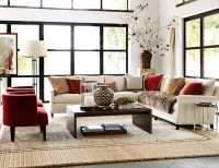 Rustic Modern Living Room Decor | Williams Sonoma