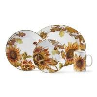 Botanical Sunflower Dinnerware Collection | Williams Sonoma
