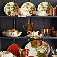 Botanical Pumpkin Dinnerware Collection | Williams Sonoma