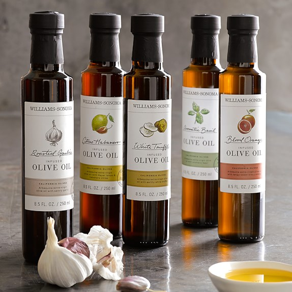 Williams Sonoma Infused Olive Oil, Roasted Garlic | Williams Sonoma