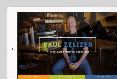 Paul Zelizer Custom WordPress Web Design by RKA ink