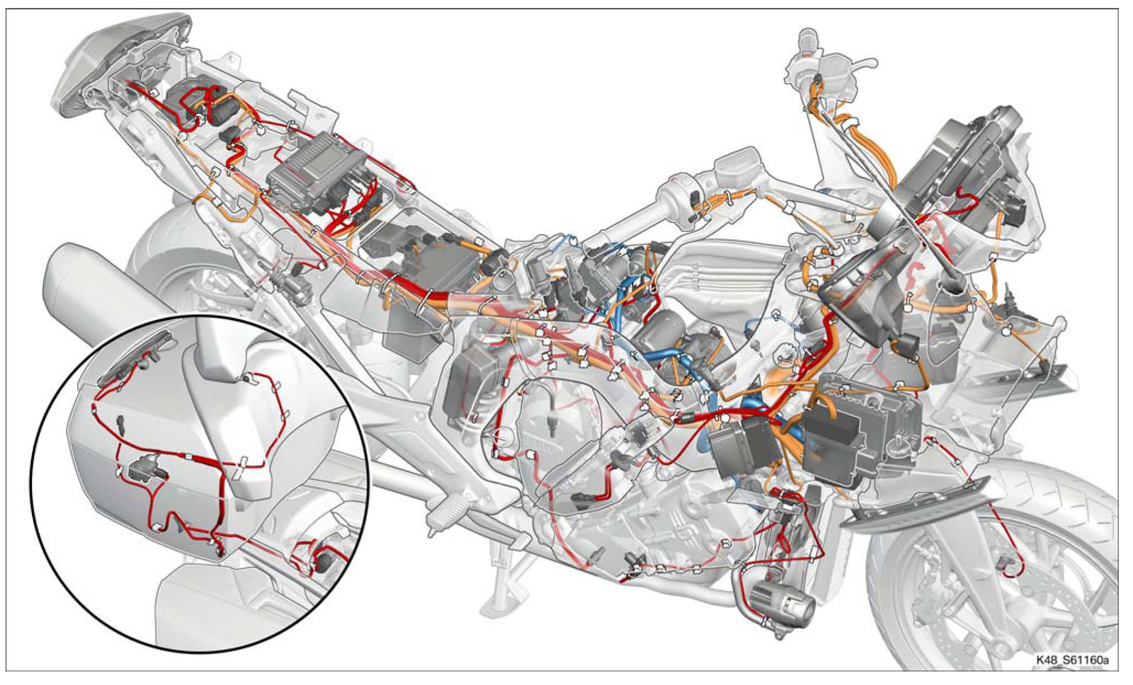 Wiring Diagrams - How the K1600 is wired - BMW K1600 Forum  BMW