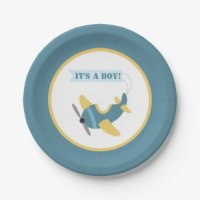 Airplane Party Plates, Airplane Melamine Plates