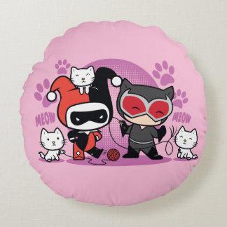 Harley Quinn Decorative Pillows & Poufs