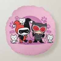 Harley Quinn Decorative Pillows & Poufs