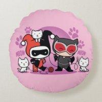 Harley Quinn Decorative Pillows & Poufs | Zazzle.ca