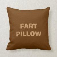 Farting Decorative Pillows | Zazzle.ca