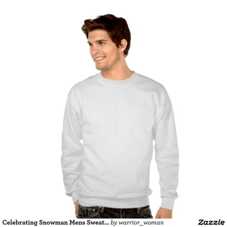 Confetti Snowman Sweatshirt