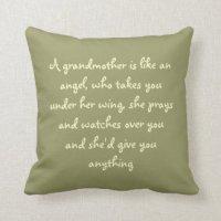 For Grandma Cushions - For Grandma Scatter Cushions ...