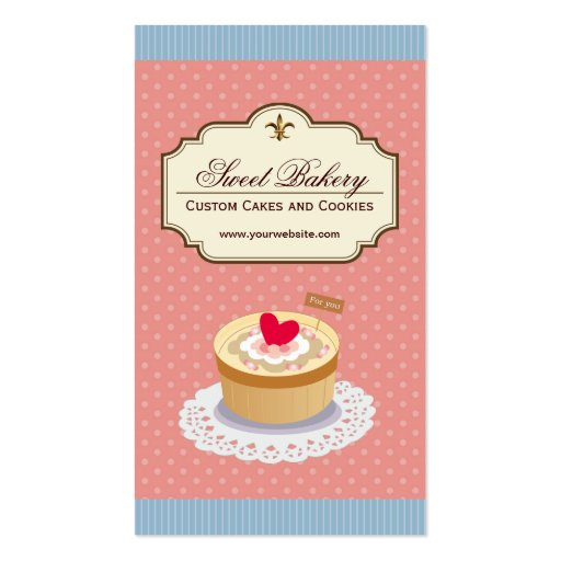 Collections of Birthday Cake Business Cards - birthday cake card template