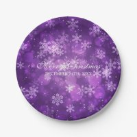Christmas Paper Plates & Christmas Disposable Plate ...