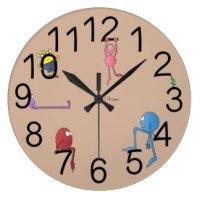 Kids Wall Clocks   Zazzle.co.uk