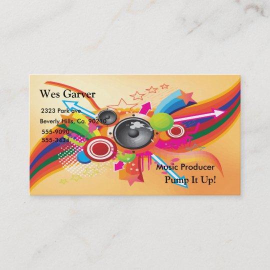 rainbow business card - Pinarkubkireklamowe