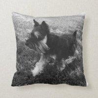 Schnauzer Cushions - Schnauzer Scatter Cushions | Zazzle.co.uk