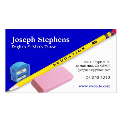 Collections of Education Business Cards