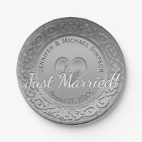 Wedding Paper Plates & Wedding Disposable Plate Designs ...