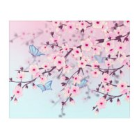 Japanese Cherry Blossom Art, Posters & Framed Artwork ...
