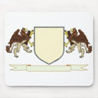 Make Your Own Family Crest Mouse Pad | Zazzle.com.au
