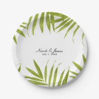 Wedding Reception Plates | Zazzle.com.au