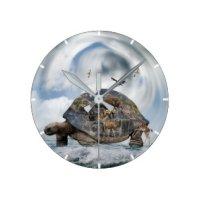 Turtle Wall Clocks | Zazzle.com.au