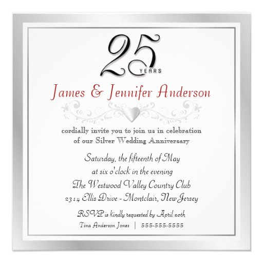 Sample invitation letter for marriage anniversary professional sample invitation letter for marriage anniversary invitation letter sample invitation letter format 25th wedding anniversary party stopboris Image collections