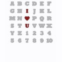 Word Search Puzzle Geeks T-Shirts & Gifts - I Love You