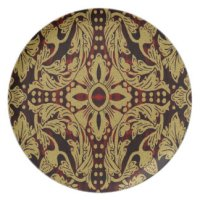 Damask Dinnerware Plates | Zazzle