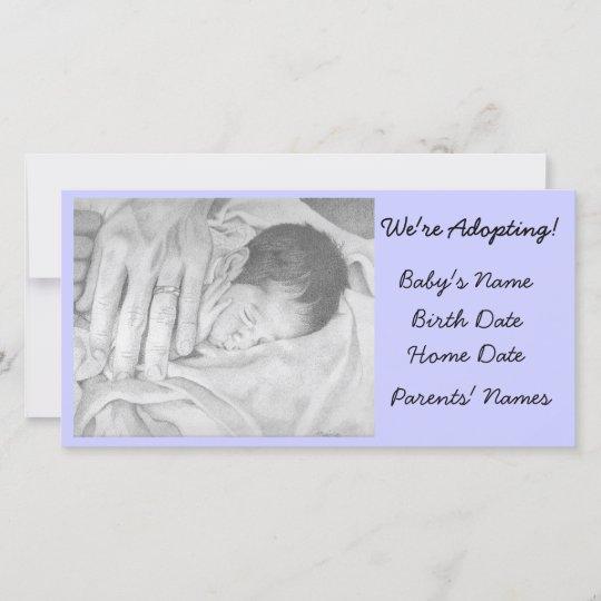 Adoption Announcement Sweet Dreams Zazzle