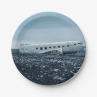 Airplane Plates | Zazzle