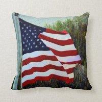 American Flag Pillow | Zazzle
