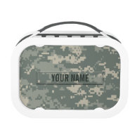 Army ACU Camouflage Customizable Lunchboxes