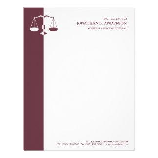 Free Sample Letterhead Templates Attorney Letterhead Zazzle