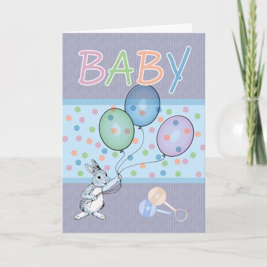 Baby Boy congratulations new baby Card Zazzle
