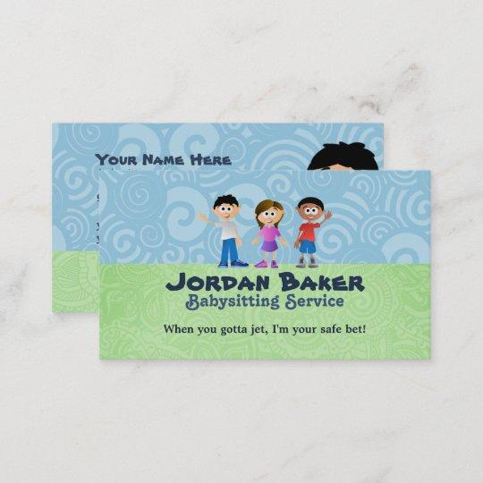 Babysitter Business Cards Zazzle