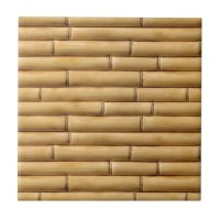 Bamboo Texture Background Ceramic Tile | Zazzle