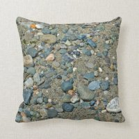 Between a Rock and a Hard Place Pillow | Zazzle