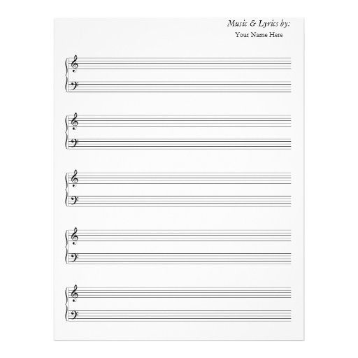 Doc#718865 Music Staff Paper Template u2013 iPadpapers music sheet - music staff paper template