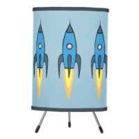 Rocket Ship Table & Pendant Lamps | Zazzle